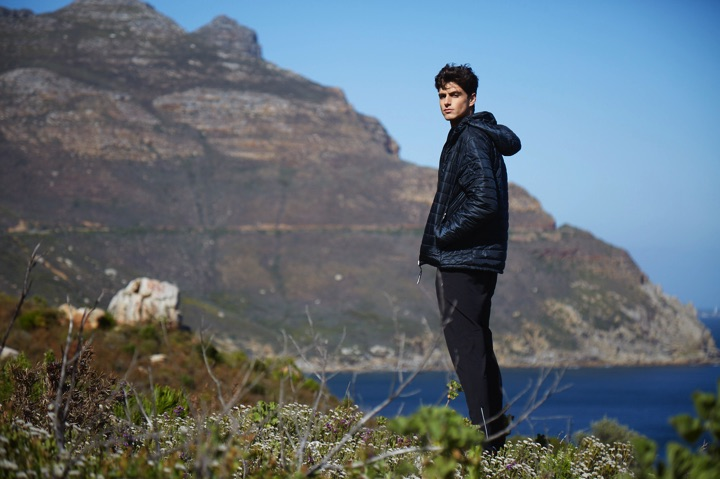 Men's collection sustainable jackets